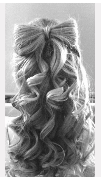 Beautiful arch hairstyle idea