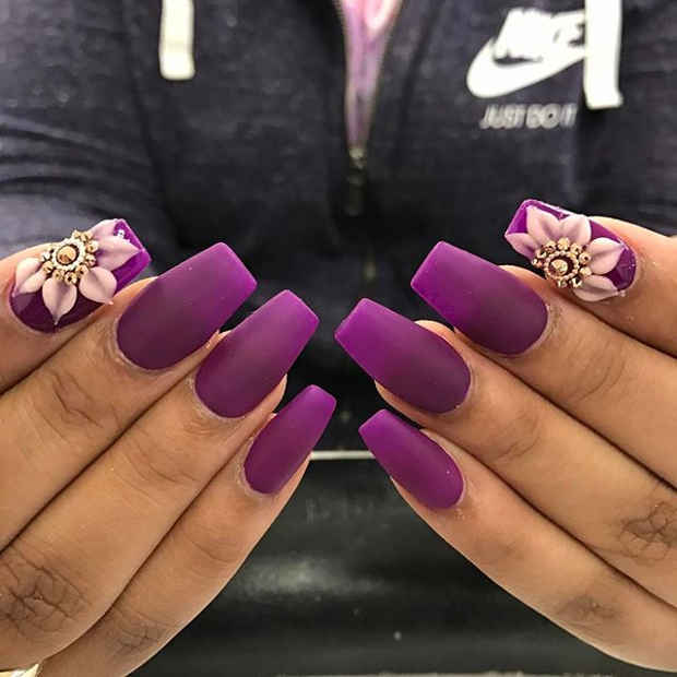21 Gorgeous Floral Nail Designs for Spring | Page 2 of 2 | StayGl