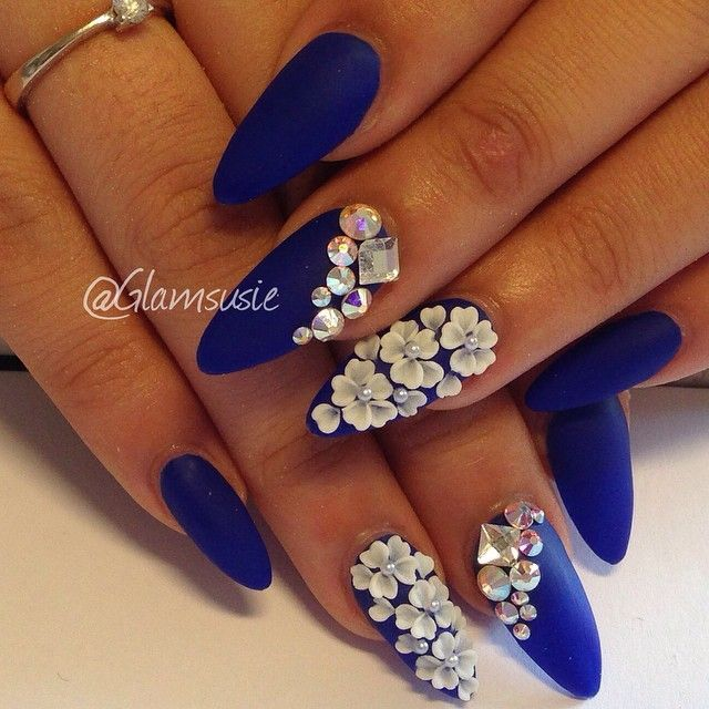 38 Adorable 3d Flower Nail Designs-Ideas 2015 | Flower nails, 3d .