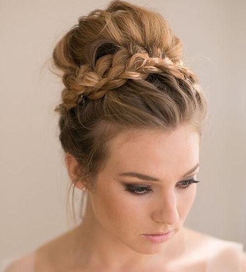 40 Most Delightful Prom Updos for Long Hair in 2020 | Medium hair .