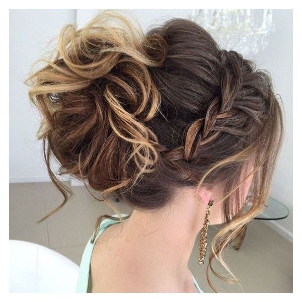 40 Most Delightful Prom Updos for Long Hair in 2016 ❤ liked on .