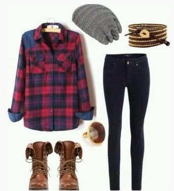 A Classic Collection of Plaid Outfit Ideas for Women | Clothes .