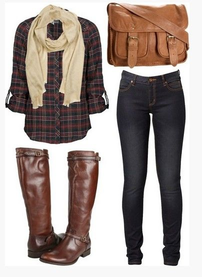 A Classic Collection of Plaid Outfit Ideas for Women | Look .