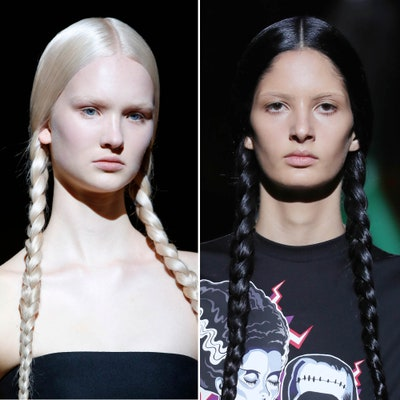 Milan Fashion Week Fall 2019 Beauty Trends: Best Hair and Makeup .