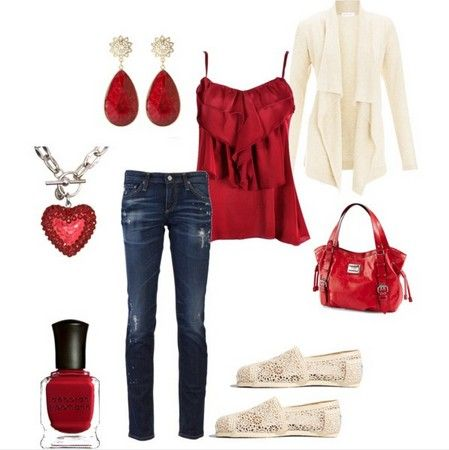 A Colletion of Hot Red Outfits From Casual to Formal | Red outfit .