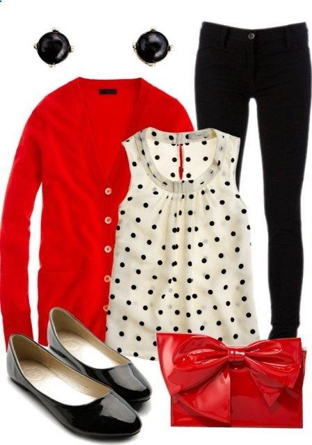A Colletion of Hot Red Outfits From   Casual to Formal