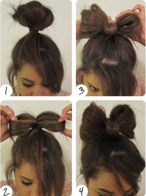 16 Ways to Make an Adorable Bow Hairstyle | Lady gaga hair, Bow .
