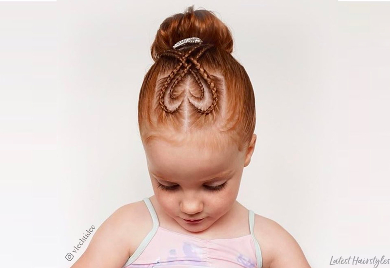 29 Cutest Hairstyles for Little Girls for Every Occasi