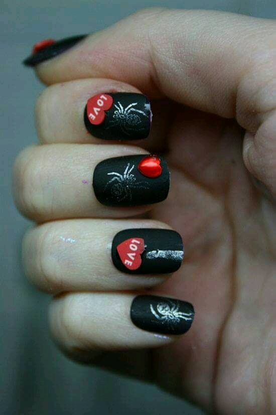 92 Adorable Valentine's Day Nail Art Ideas with a Touch of R