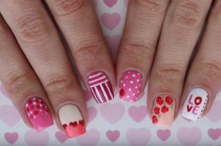 Celebrate Valentine's Day Early With These Easy And Adorable Nail .