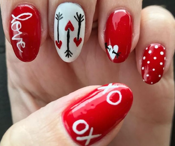 19 Valentine's Day Nails And Manicure Ideas You Need To T