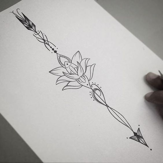Amazing Arrow Tattoos For Women - Koees Answ
