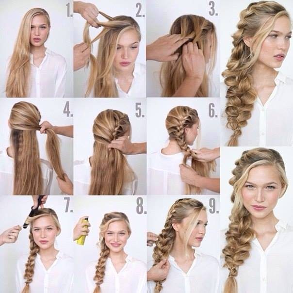 Cool Braid Tutorials part 1 by Emily Gonzalez - Muse