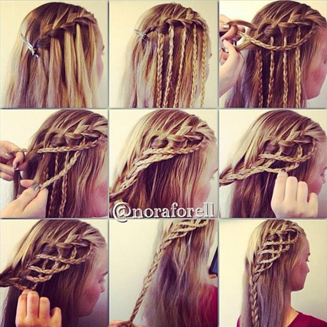 Amazing Hairstyle: Rope Braid - AllDayCh