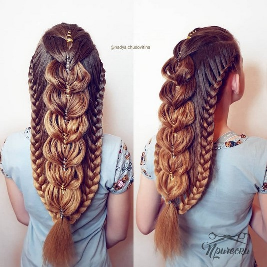 45 BEST BRAIDING HAIRSTYLES FOR LONG HAIR 2019-2020 * HAIR AND .