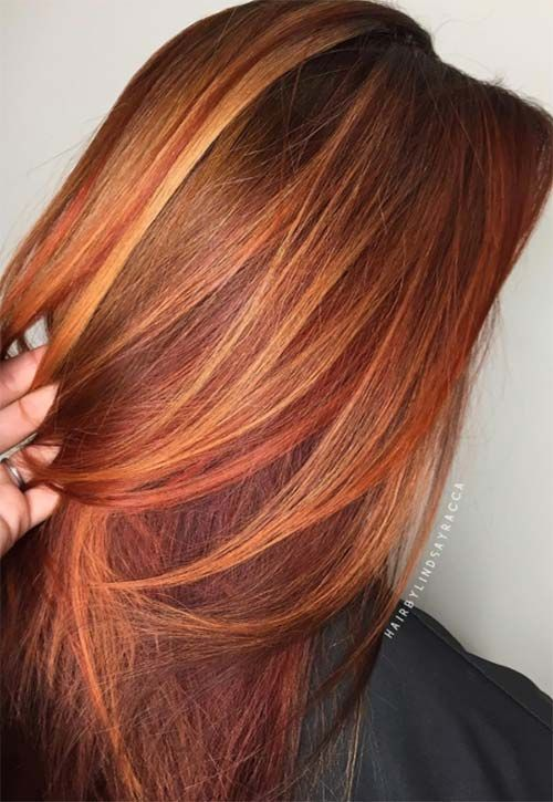 50 Copper Hair Color Shades to Swoon Over | Hair color shades .