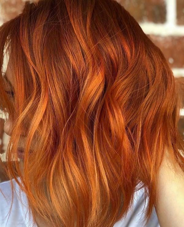 38 Hottest Fiery Copper Red Hair Color Ideas for 2018 | Bold hair .
