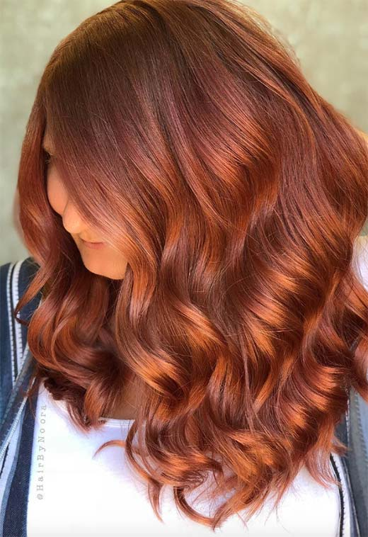 57 Flaming Copper Hair Color Ideas for Every Skin Tone - Glows