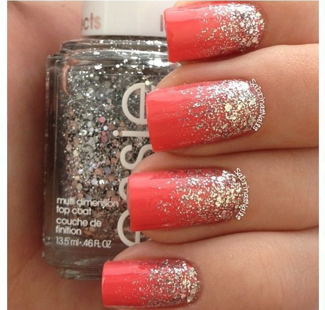 Amazing Coral Nail Designs for the Season | Coral nails with .