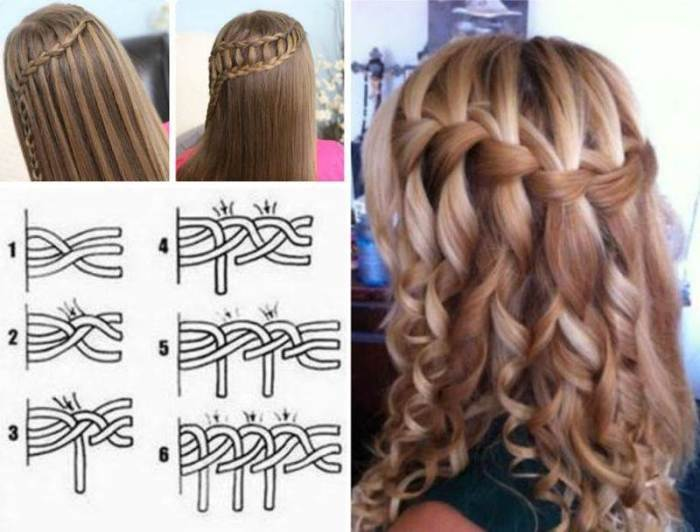 16 Selective French Braid Hairstyle Tutorials - FashionSha
