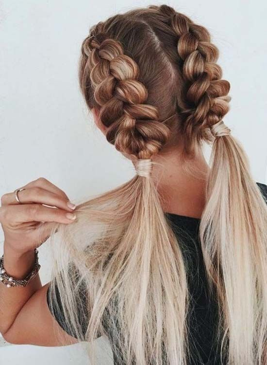 ellelab.com - Domain Name | Braided hairstyles easy, Cool braid .