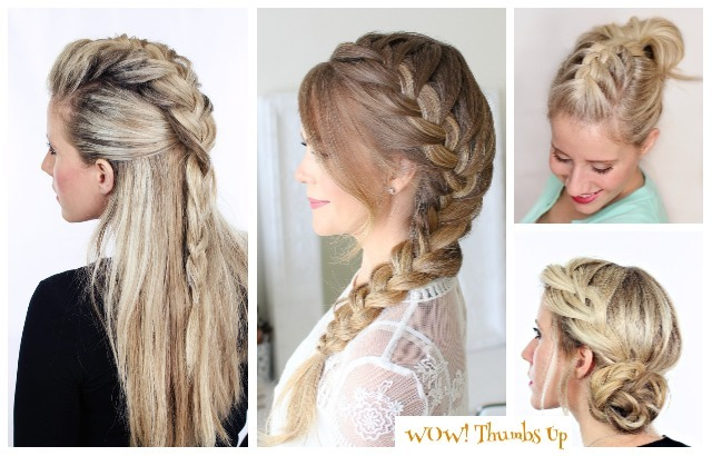 Stunning French Braid Hairstyles for Medium and Long Ha