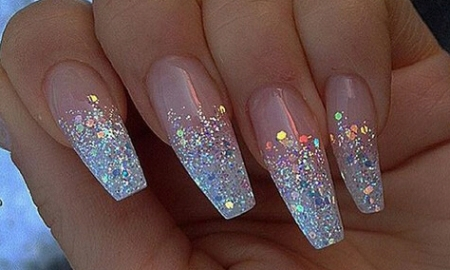 Awesome 50+ Glitter Nails Art Desig