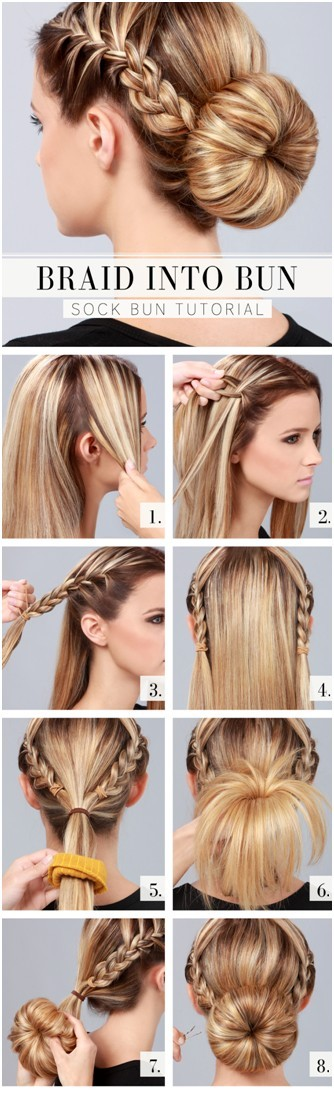 10 Ways to Make Cute Everyday Hairstyles: Long Hair Tutorials .