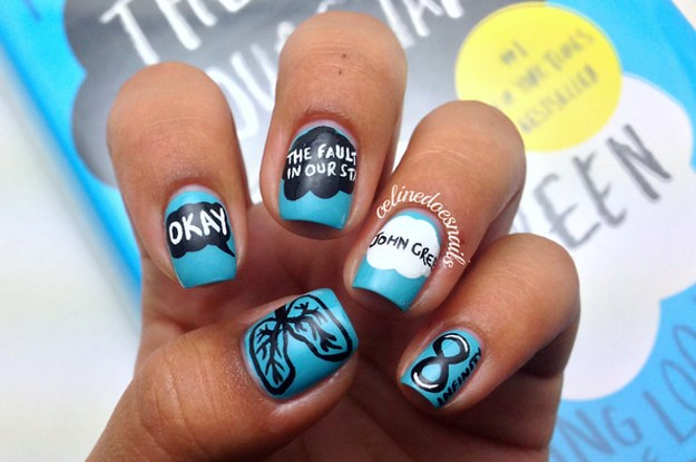 25 Insanely Cool Nail Art Designs Inspired By Boo