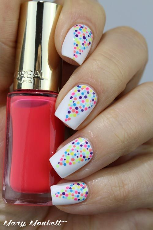25 Amazing Nail Art Designs For Beginners | Simple nail art .