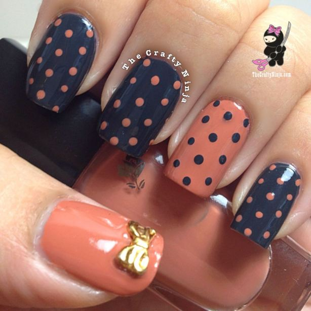 22 Amazing Nail Art Tutorials by Blogger The Crafty Nin