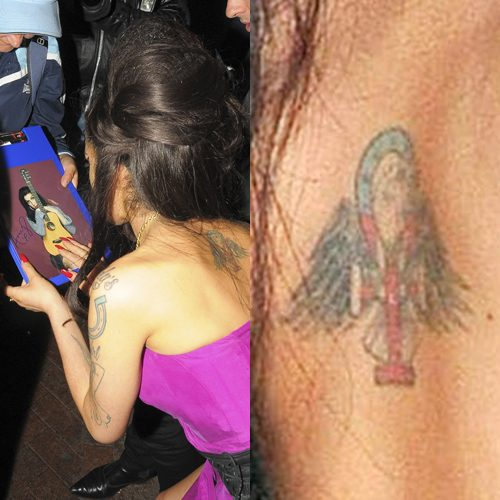Amy Winehouse's 14 Tattoos & Meanings | Steal Her Sty