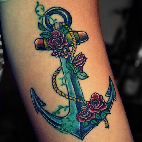 Anchor Tattoo Meanings | iTattooDesigns.c
