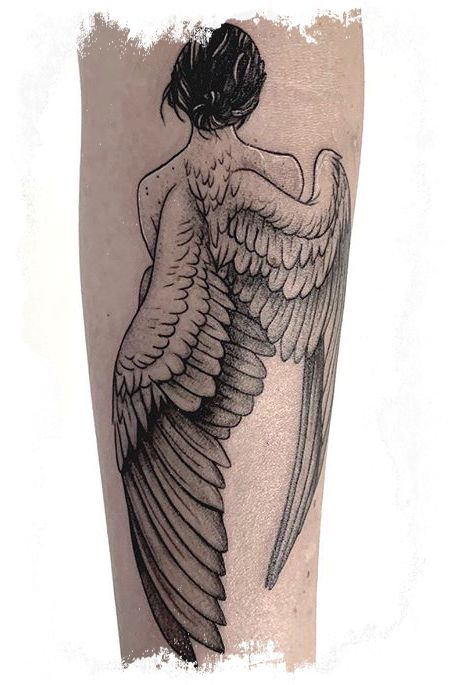 20+ Angel Tattoo Designs You Must Love and The Meaning | Angel .
