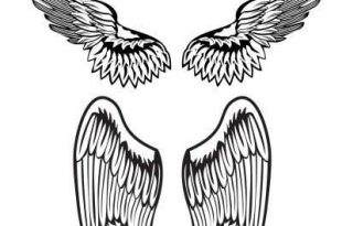 Angel Wing Tattoos For Men On Back - Best Angel Wing Tattoo For .