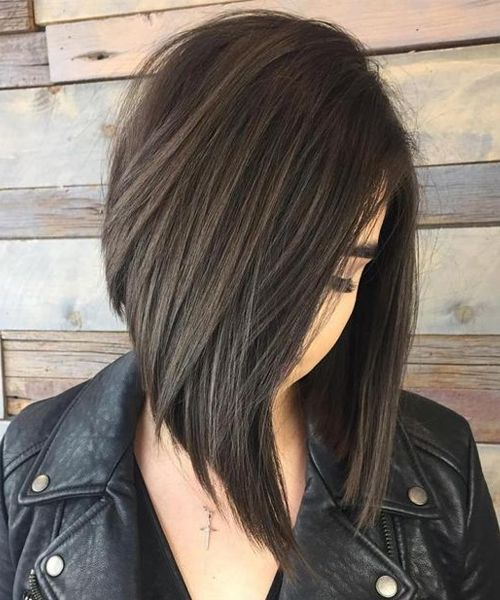 Splendid Angled Bob Hairstyles 2019 for Women to Rock This Year .