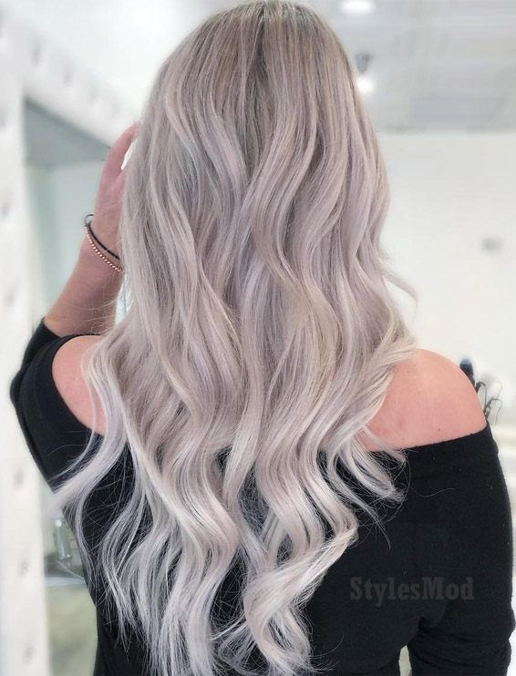 Perfect Cream Natural Ash Blonde Hairstyles for 2019 | Natural ash .