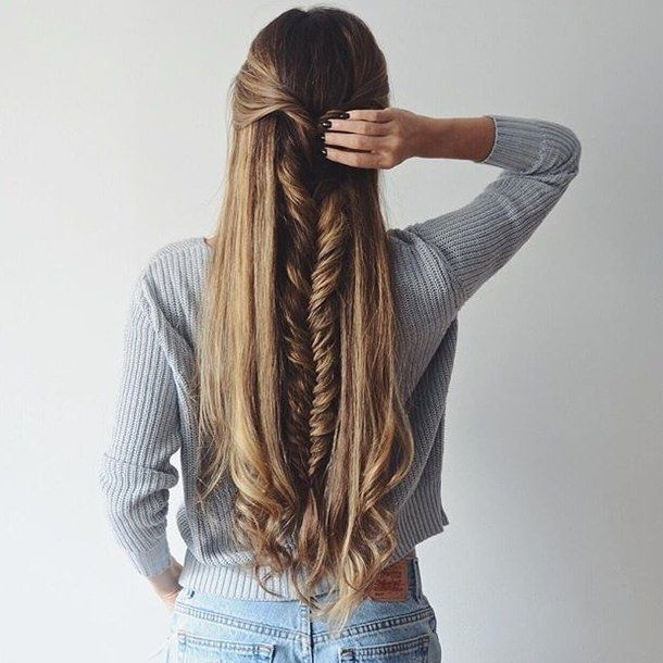 Autumn Braided Hairstyles for Long Hair