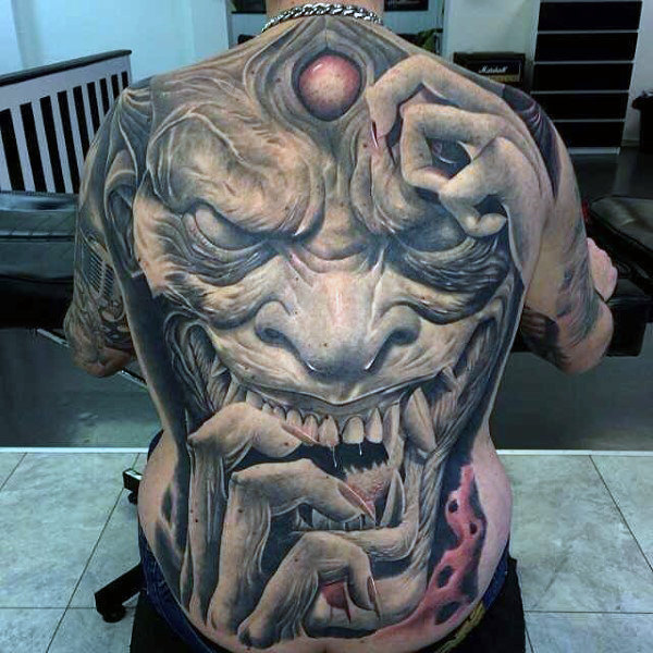 109 Best Back Tattoos for Men | Impr