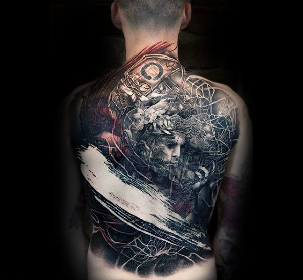 50 Awesome Back Tattoos For Men - Masculine Design Ide