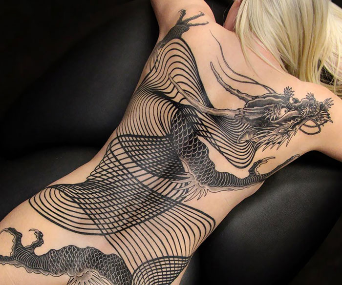 Awesome back tattoos that are masterpieces | Dom Pi
