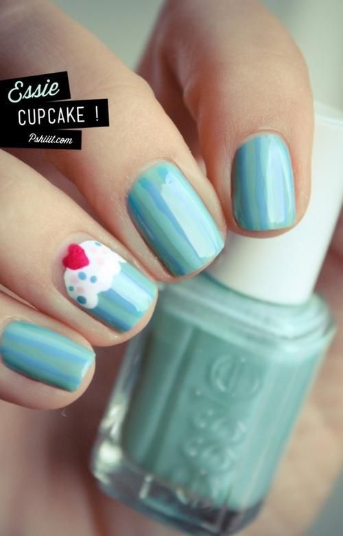 14 Awesome Cupcake Nail Art Designs for Girls | My Style | Cupcake .