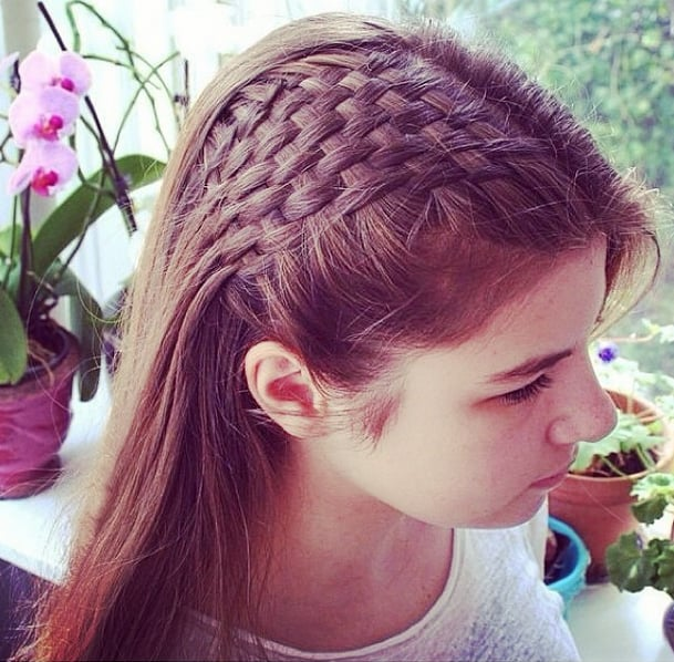 Basket-Weave Braid | 43 Braids From Instagram to You Will Want to .