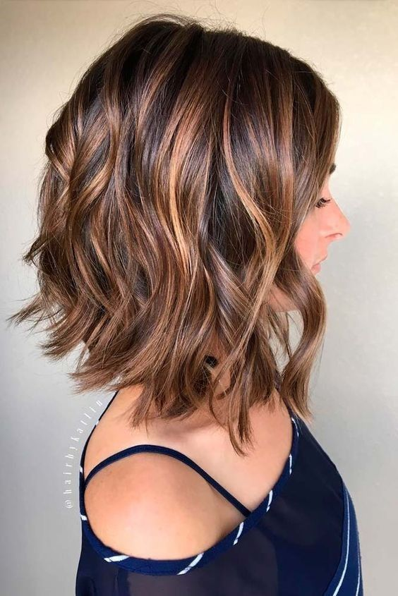 44 Shoulder Length Haircuts To Excite You – Eazy Gl