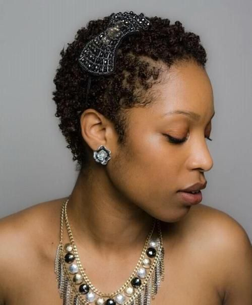 Cool accessories for short #naturalcurls. What your favorite hair .