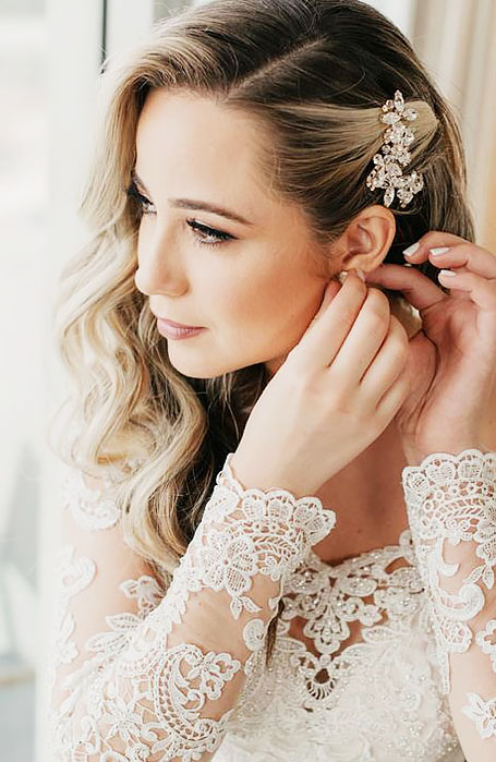 30 Chic Bridal Hairstyles for Your Special Day - The Trend Spott