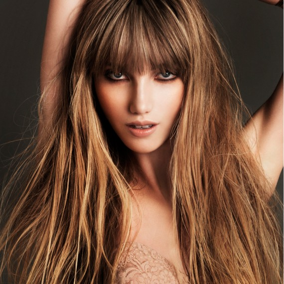 Long Hairstyle With A Fringe ~ Best Haircu