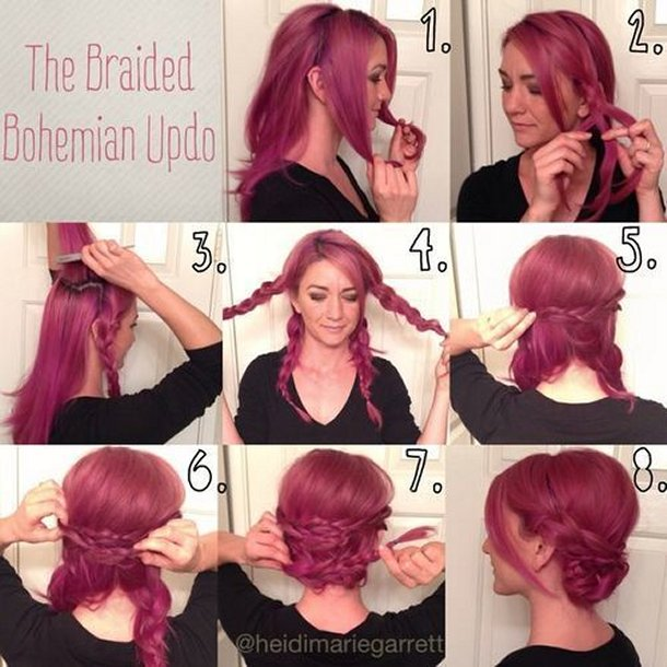 20 Most Beautiful Braided Hairstyle Tutorials for 2020 - Pretty .
