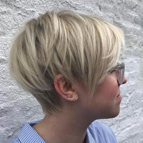 60 Gorgeous Long Pixie Hairstyl