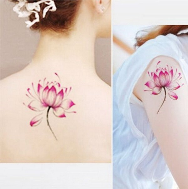 55 Pretty Lotus Tattoo Designs – Page 37 – Foliver bl